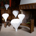 Lampe de table Vapeur, Moustache blanc Petit modèle