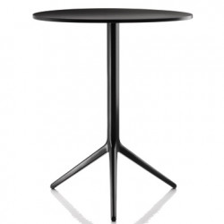 Table Central, Magis noir diamètre 60cm