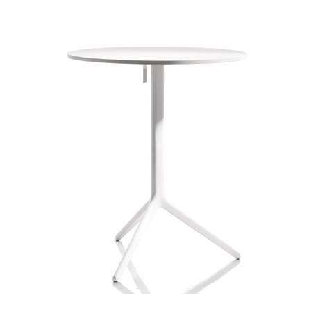 Table Central , Magis blanc diamètre 60cm