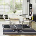S43 Chaise luge Cantilever, Thonet gris anthracite