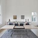 S1072 Table extensible Thonet bois hêtre, chrome