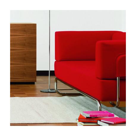 S5001 Fauteuil design Thonet rouge