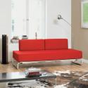 S5002 Canapé lit convertible Thonet rouge