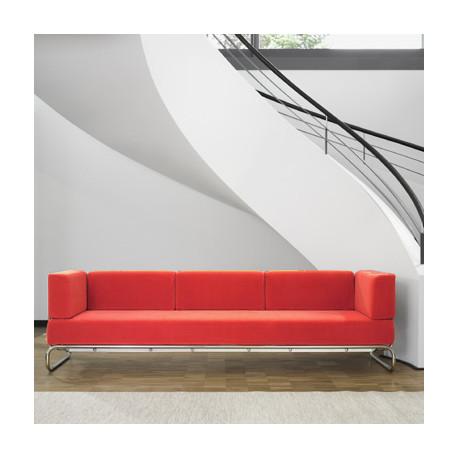 5003 Canapé 3 places amovible, Thonet rouge