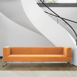 5003 Canapé 3 places amovible, Thonet orange