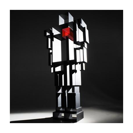 Etagère Bibliothèque Design Robox, Casamania gris foncé