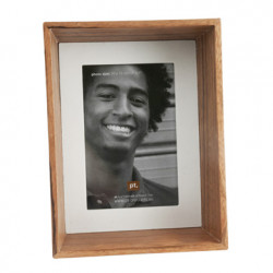 Cadre photo rustic wood, Present Time bois