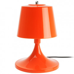 Lampe de table 'Shroom, Leitmotiv métal orange