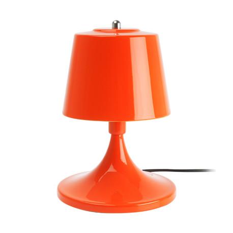 Lampe de table 'Shroom, Leitmotiv métal orange