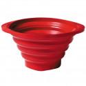 Passoire strainer pliable, Normann Copenhagen rouge