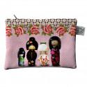 Pochettes poupées japonaise Kokettes, Laissez Lucie Faire rose