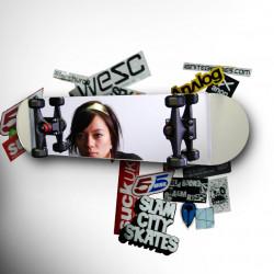 Miroir skateboard, Suck Uk miroir
