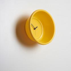 Catino, horloge bassine Diamantini & Domeniconi jaune