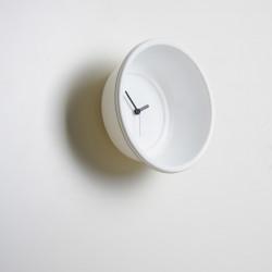 Catino, horloge bassine Diamantini & Domeniconi blanc