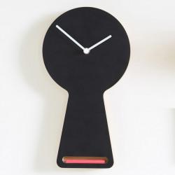 Horloge Tablita, Diamantini & Domeniconi noir