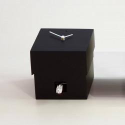 Cucubo, petite horloge coucou, Diamantini & Domeniconi noir