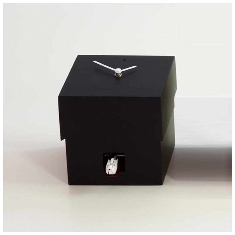Cucubo, petite horloge coucou, Diamantini & Domeniconi noir ...