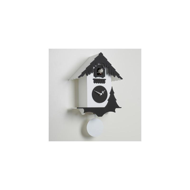 Horloge coucou Chalet, Diamantini & Domeniconi blanc, noir ...