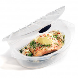 Papillote en silicone MeShell, Siliconezone transparent Taille L