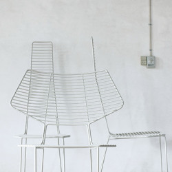Fauteuil lounge Alieno, Casamania blanc