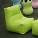 Pouf Morfino, Casamania vert Taille L