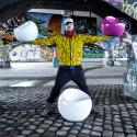 Fauteuil Baby Ball Chair, XL Boom bleu pastel