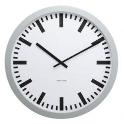 Horloge Gare, Karlsson blanc argenté Taille S