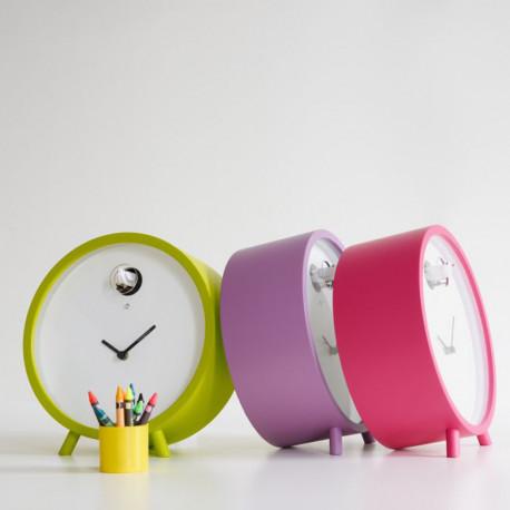 Horloge lumineuse à poser Plex, Diamantini & Domeniconi vert anis