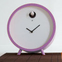 Horloge lumineuse à poser Plex, Diamantini & Domeniconi mauve, lilas, violet opaque