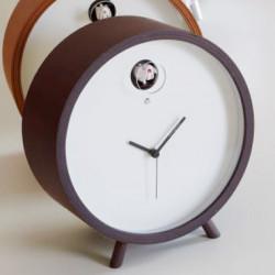 Horloge lumineuse à poser Plex, Diamantini & Domeniconi marron foncé