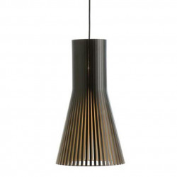 Suspension design Secto 4200, Secto Design, noir, hauteur 45 cm