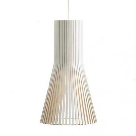 Suspension design Secto 4200, Secto Design, blanc, hauteur 60 cm