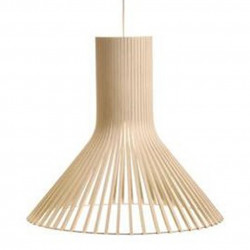 Suspension design Puncto 4203, Secto Design bois naturel
