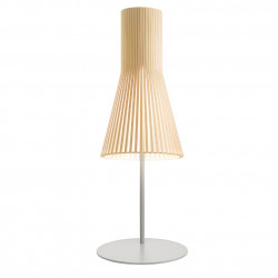 Lampe à poser Secto 4220, Secto design bois naturel