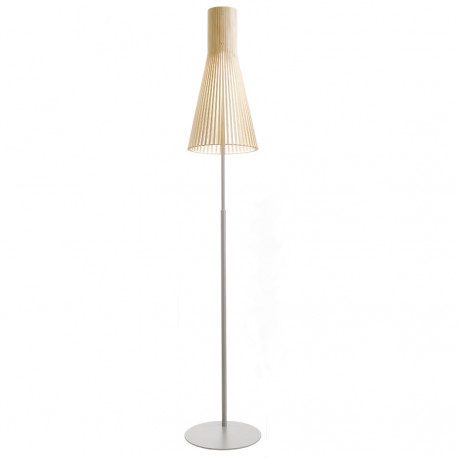 Lampadaire Secto 4210, Secto Design bois naturel