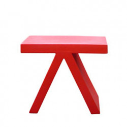 Table d\'appoint Toy, Slide Design rouge