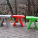 Table d'appoint Toy, Slide Design vert