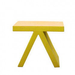 Table d\'appoint Toy, Slide Design jaune