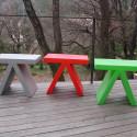 Table d'appoint Toy, Slide Design noir