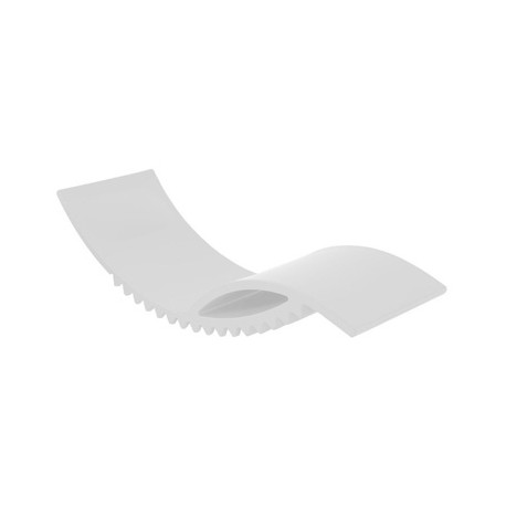 Tic chaise longue design, Slide Design blanc