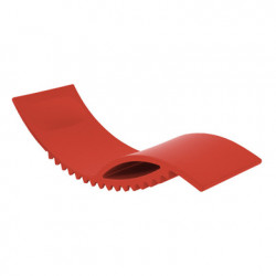 Tic chaise longue design, Slide Design rouge
