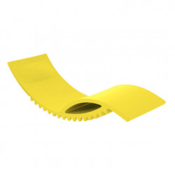 Tic chaise longue design, Slide Design jaune