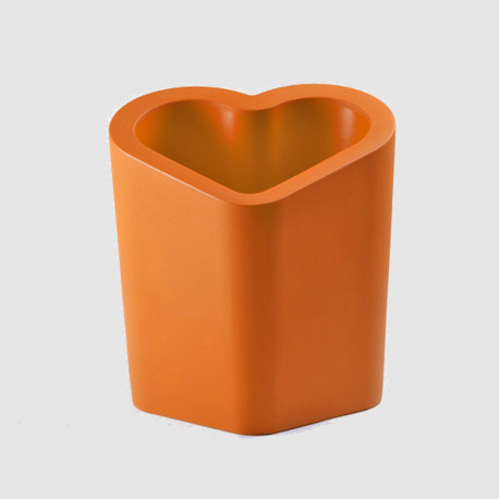 Pot design Mon amour, Slide design orange