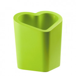 Pot design Mon amour, Slide design vert