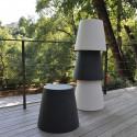 Ali Baba, tabouret design, Slide Design gris