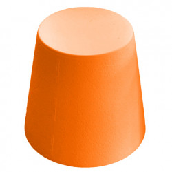 Ali Baba, tabouret design, Slide Design orange