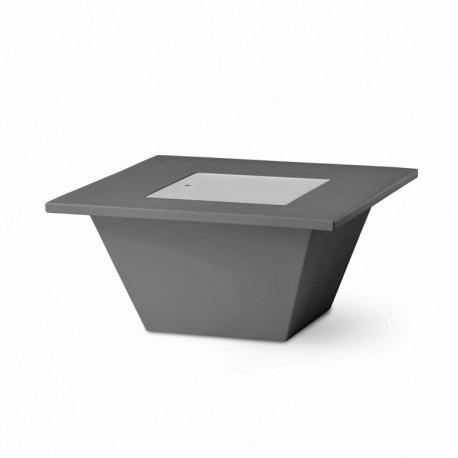 Table basse Bench, Slide design gris