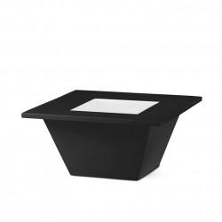 Table basse Bench, Slide design noir