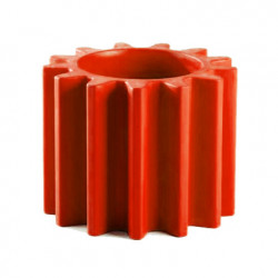 Pot design Gear, Slide Design rouge