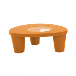 Table basse Low Lita, Slide Design orange